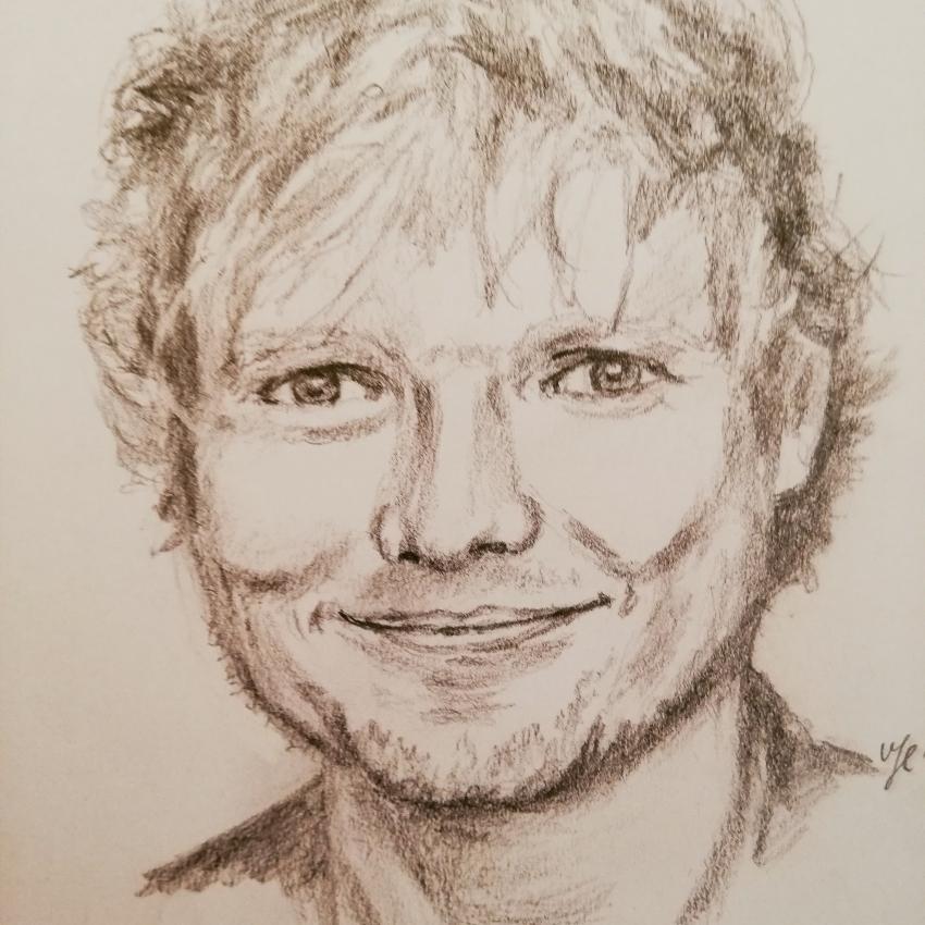 Ed Sheeran by Siersils